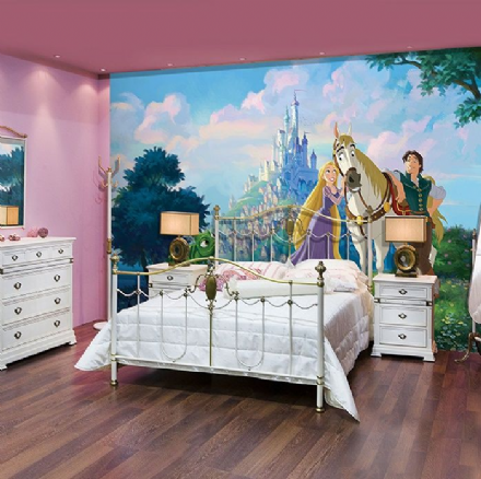 Disney Tanglet wall mural wallpaper